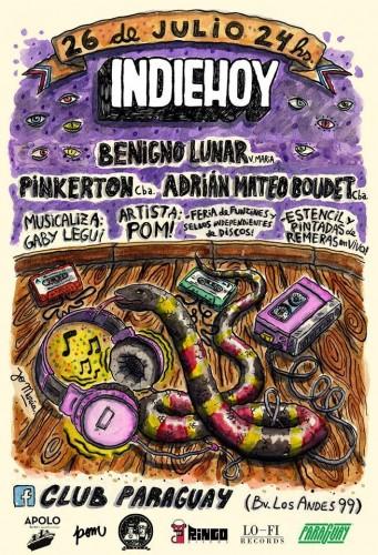 Se viene una nueva fiesta IndieHoy en Córdoba: 26 de julio