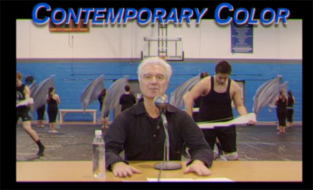 david byrne - contemporary color
