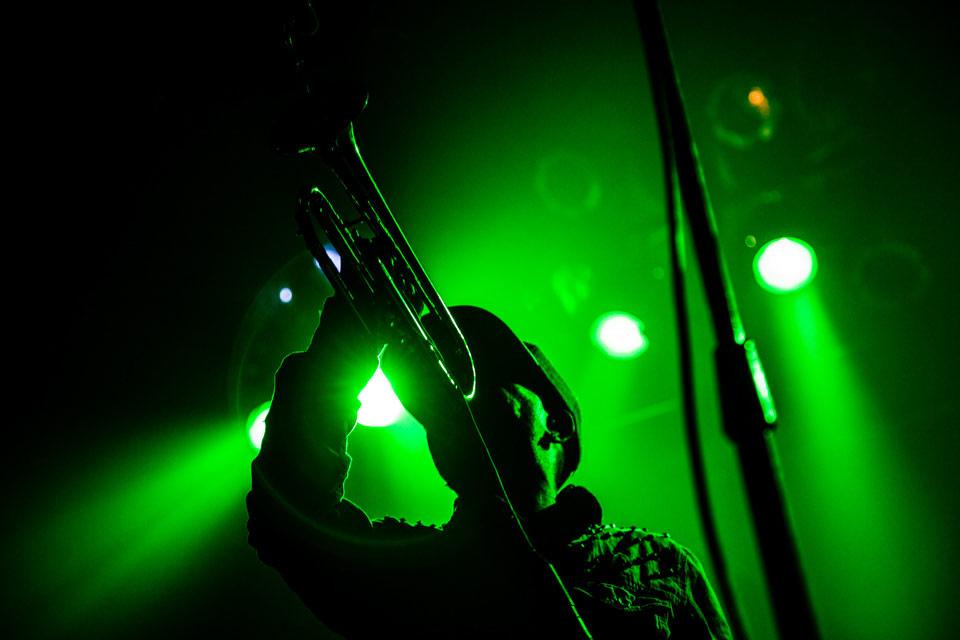 Hypnotic Brass Ensemble en Niceto Club - Foto: Pablo Mekler