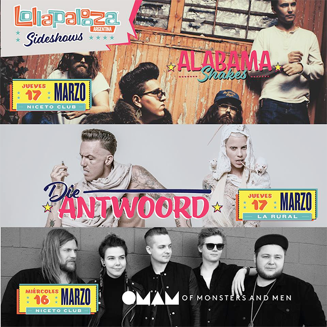 lollapalooza sideshows