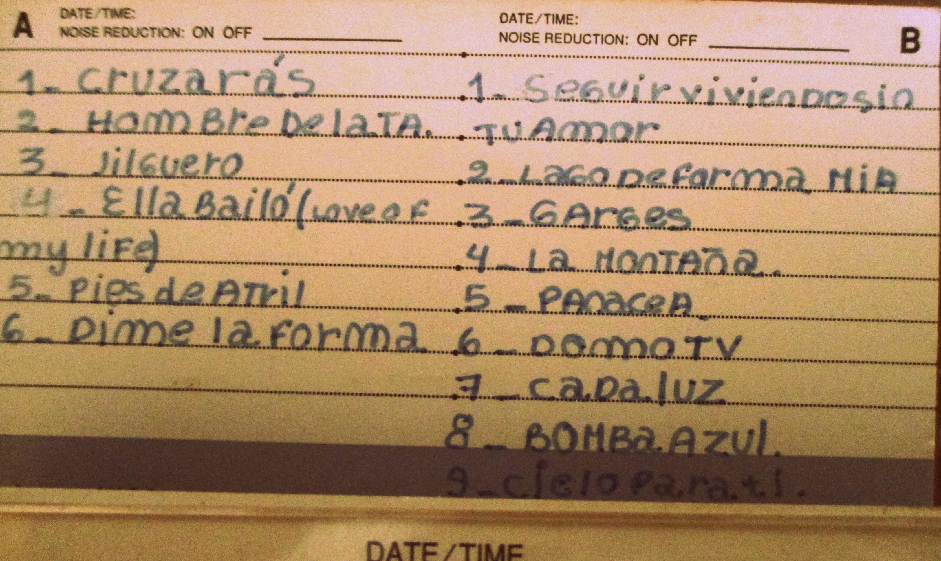 cassette spinetta