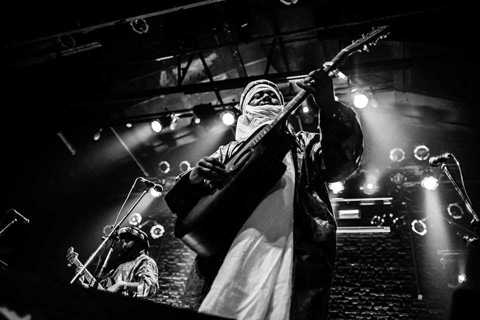 Tinariwen en Niceto Club, 22 de marzo de 2016 - Foto: Dafne Szleifer