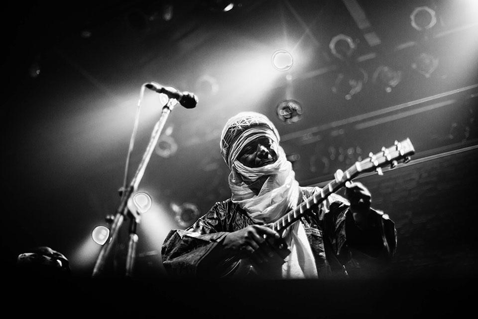 Tinariwen en Niceto Club, 22 de marzo 2016 - Foto: Dafna Szleifer