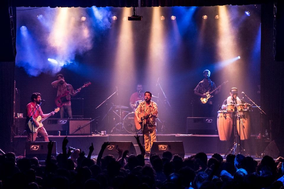Los Espiritus en Niceto Club, 20 de febrero 2016 - Foto: Pablo Mekler