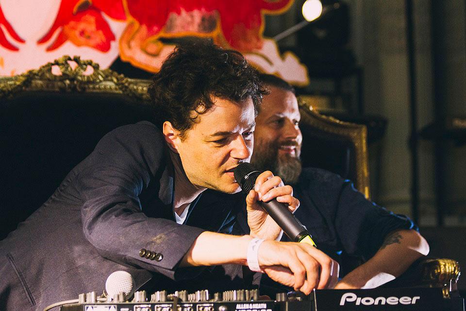 Matías Aguayo en Red Bull Music Acdemy, 26 de febrero 2016 - Foto: Matías Pozzi