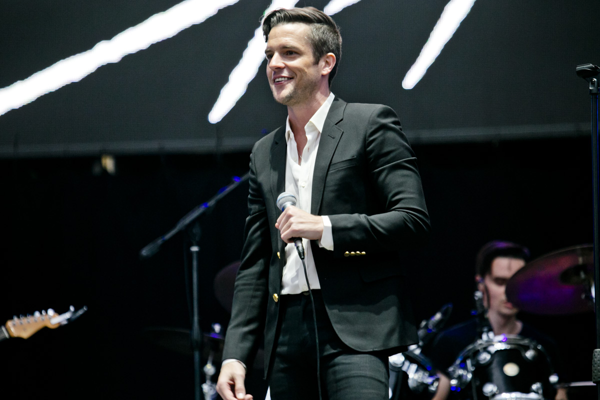 brandon flowers - lollapalooza