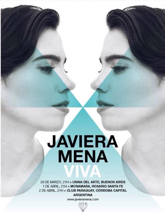javiera mena tour argentina