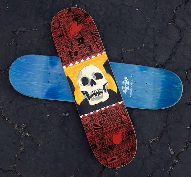 woods - skateboard