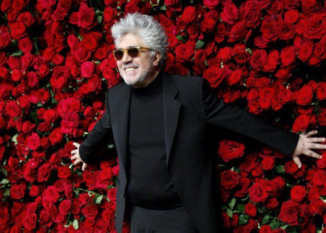 DOCU_GRUPO Spanish director Almodovar attends the Museum of Modern art's fourth annual Film Benefit in New York