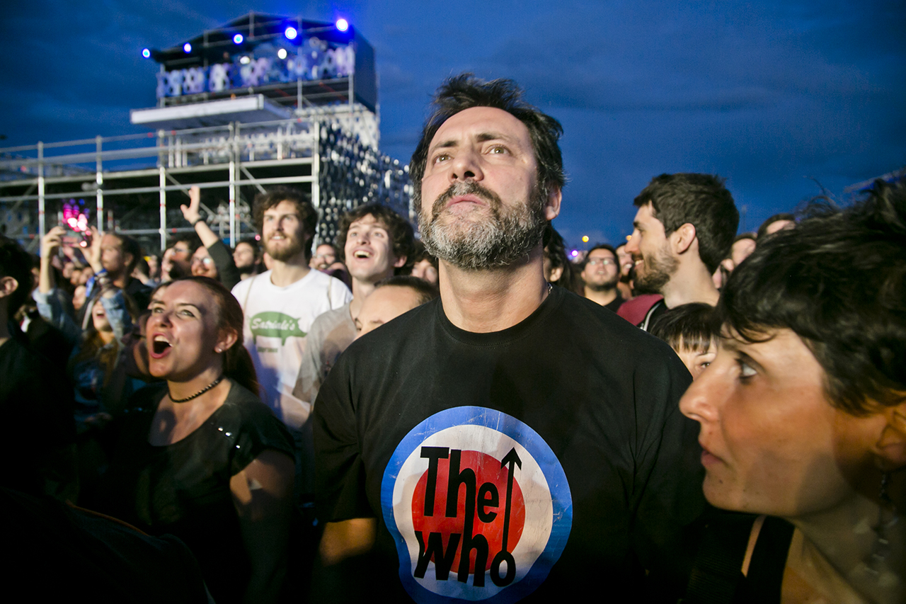 Crowd & Atmosphere at Mad Cool Festival, Madrid, Spain - 17 JUNE 2016