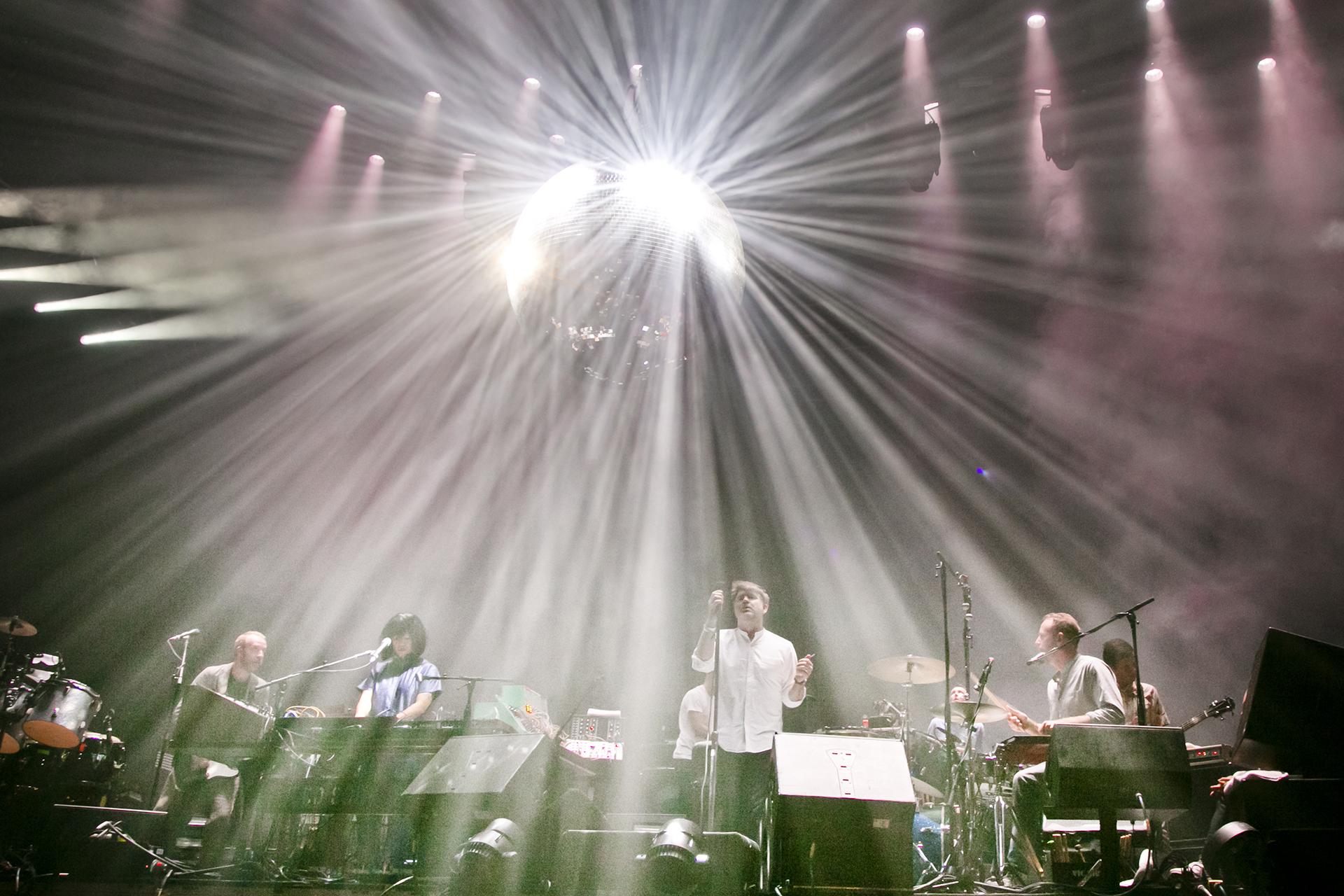 LCD Soundsystem - Fotografía: Matías Altbach