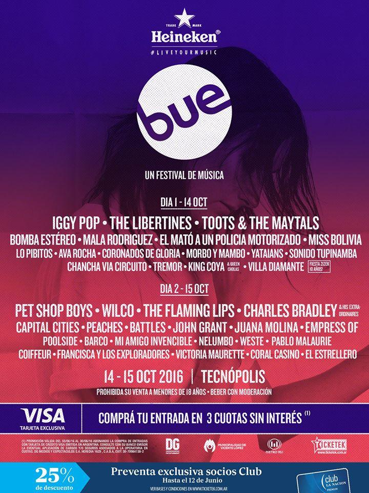 festival bue lineup