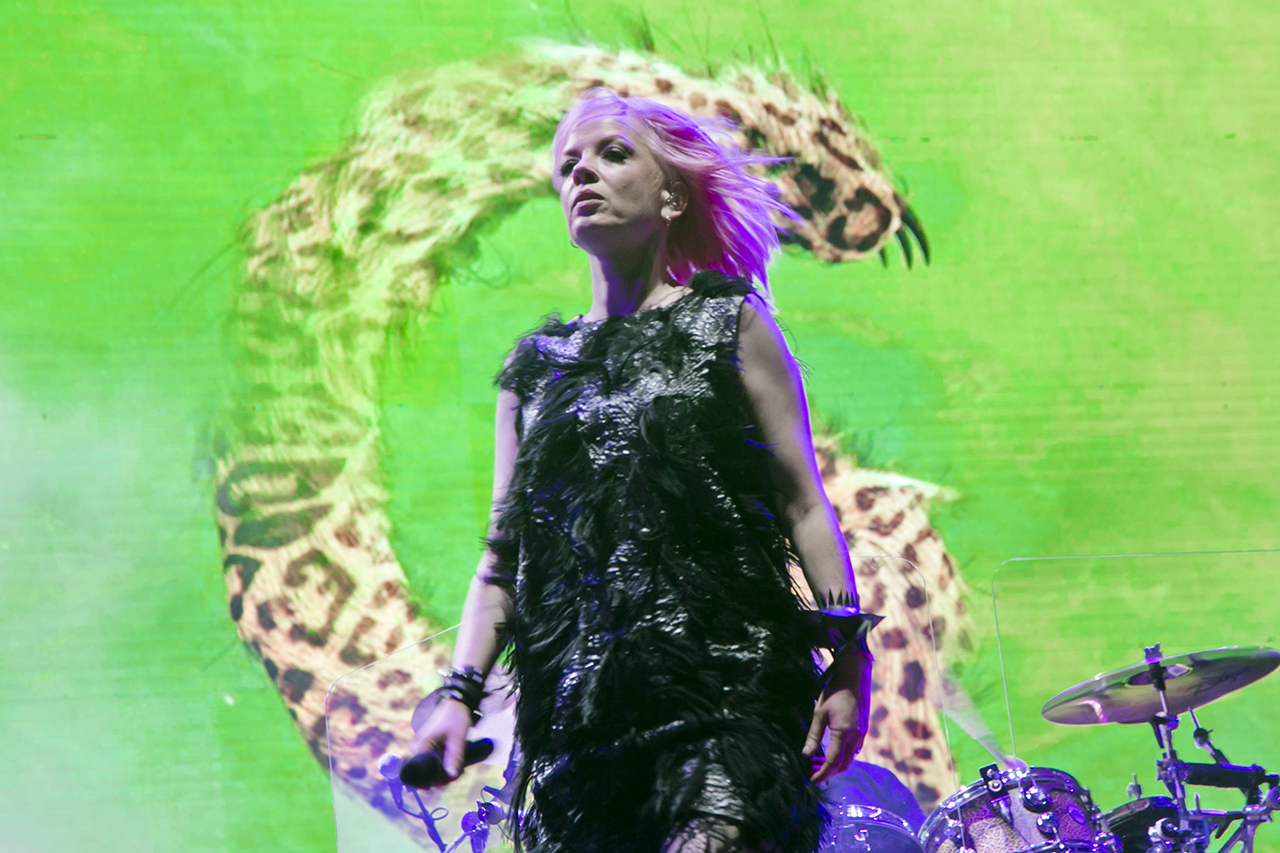 Garbage at Mad Cool Festival, Madrid, Spain - 16 JUNE 2016