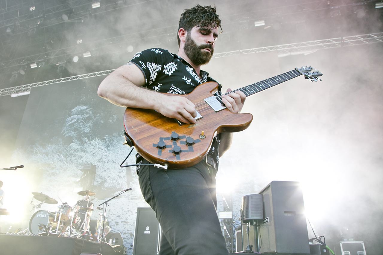FOALS at NOS Alive, Lisboa, Portugal - 8 JULY 2016
