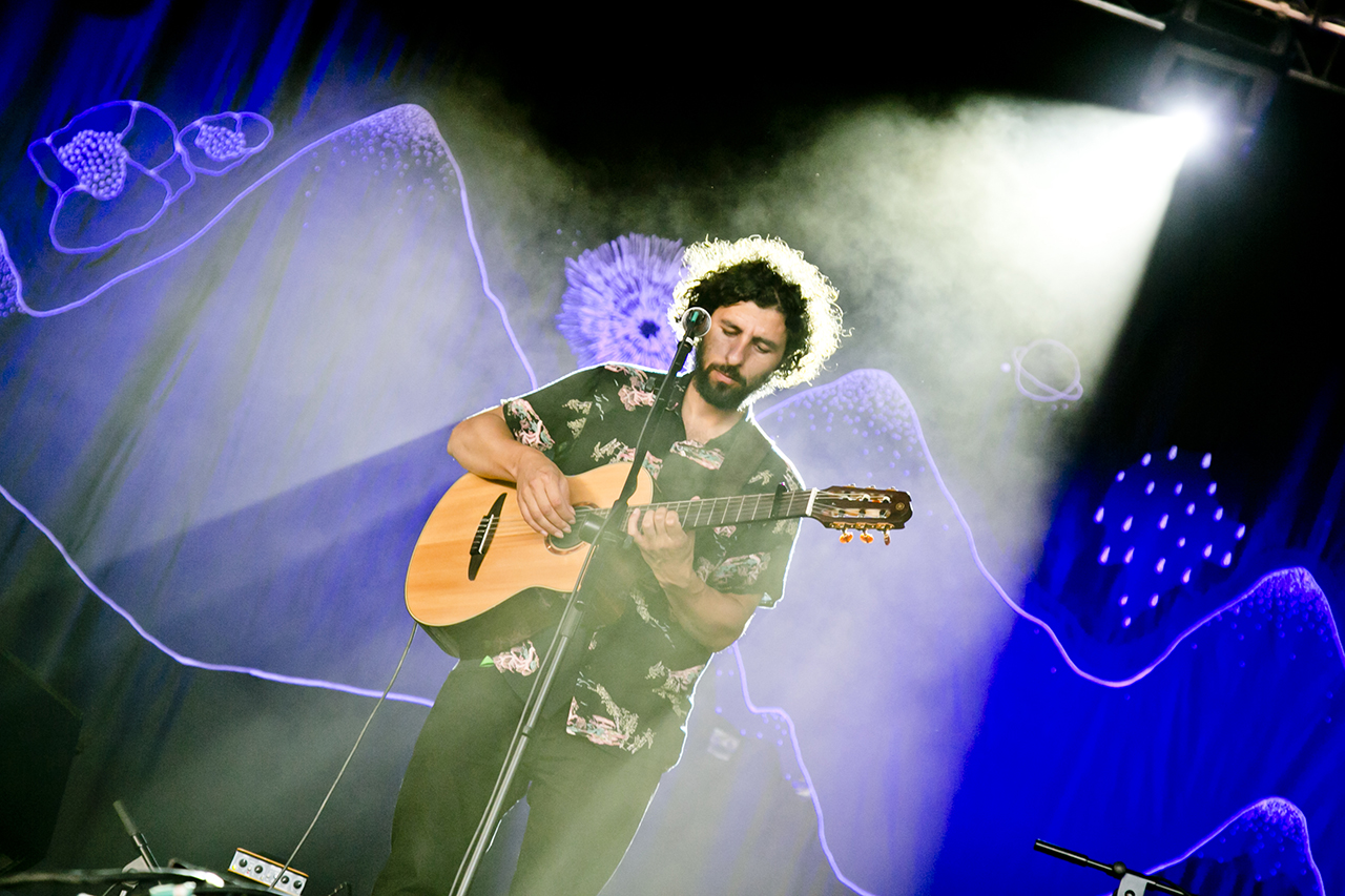 Jose Gonzalez at NOS Alive, Lisboa, Portugal - 9 JULY 2016