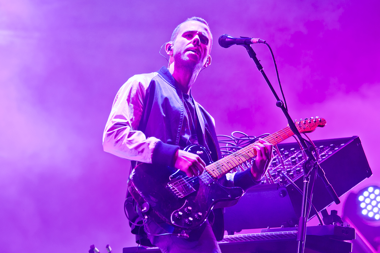 M83 at NOS Alive, Lisboa, Portugal - 9 JULY 2016