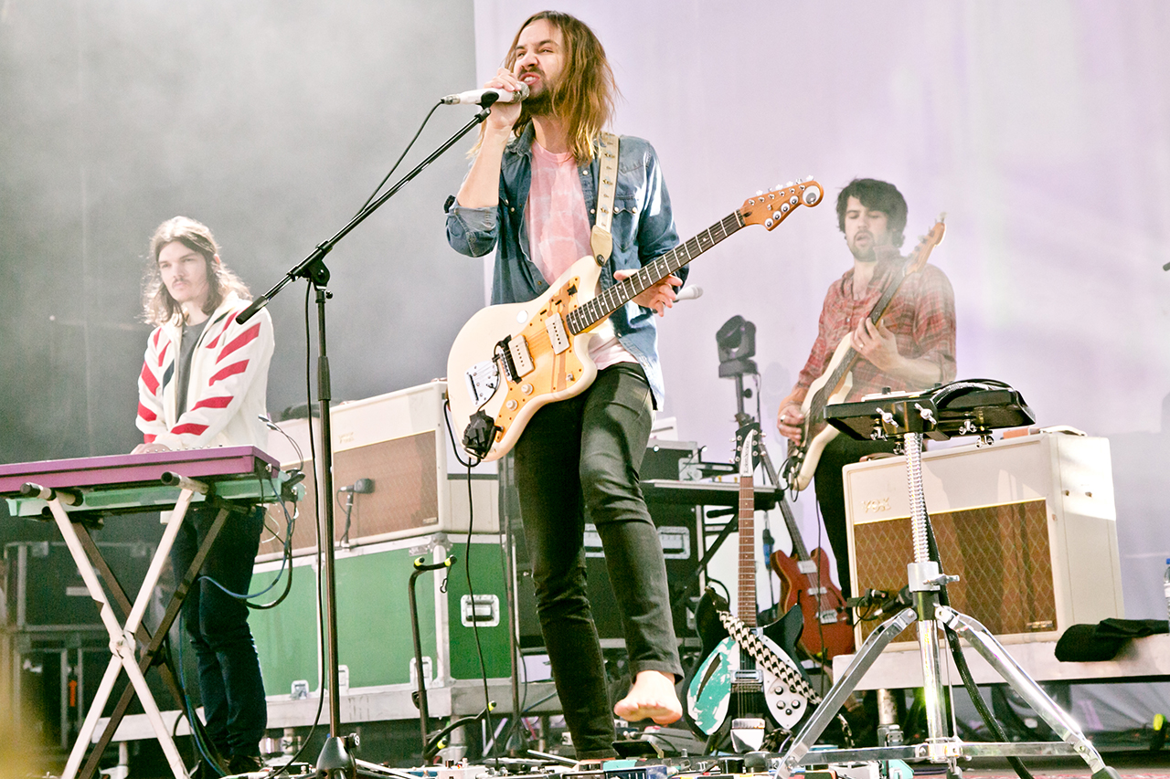 Tame Impala at NOS Alive, Lisboa, Portugal - 8 JULY 2016