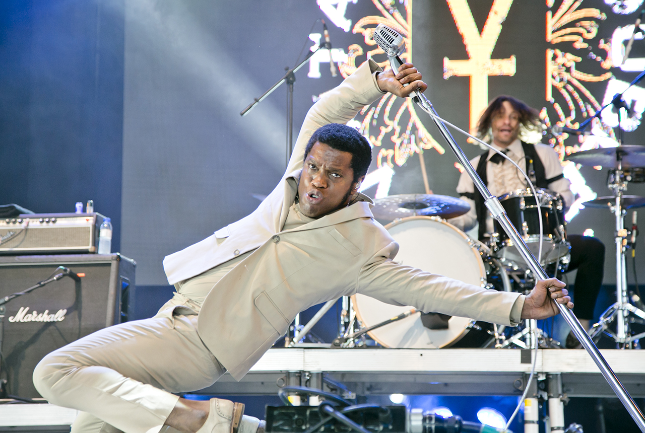 Vintage Trouble at NOS Alive, Lisboa, Portugal - 7 JULY 2016