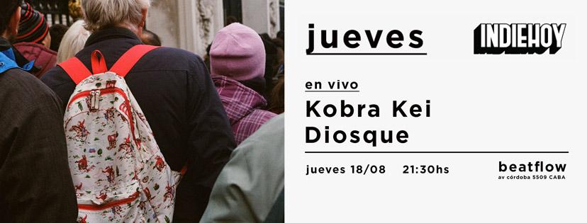 jueves 02 - diosque y kobra kei portada