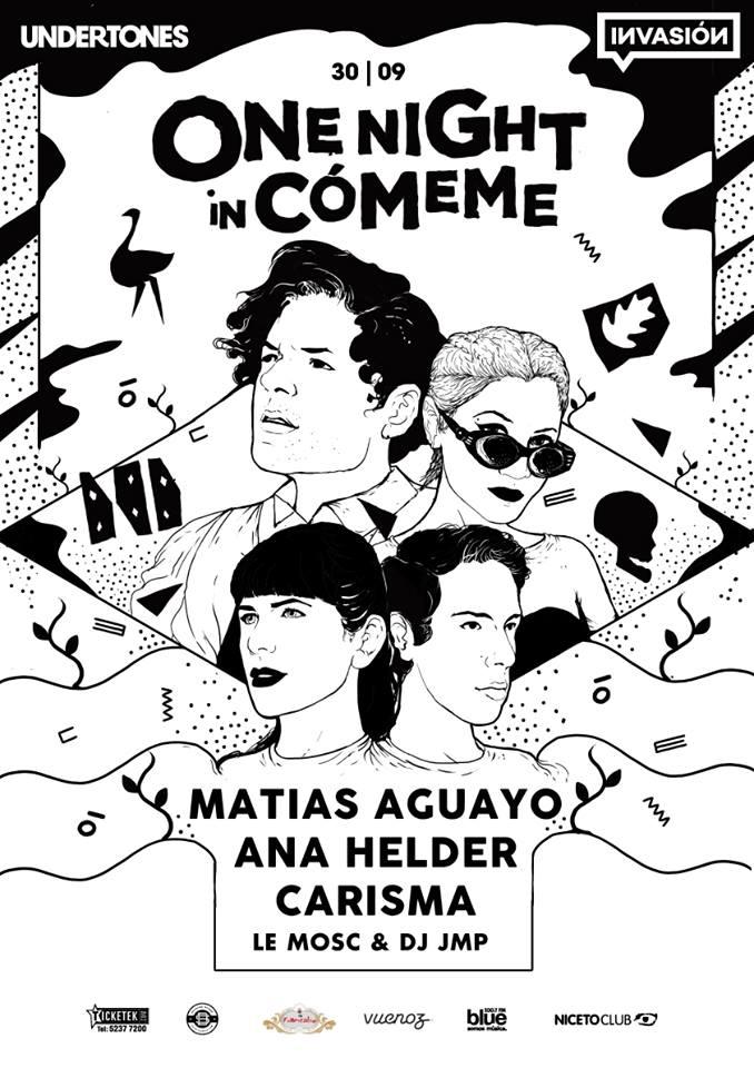matias aguayo - showcase comeme