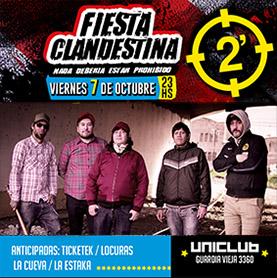 Fiesta Clandestina: 2 Minutos en Uniclub
