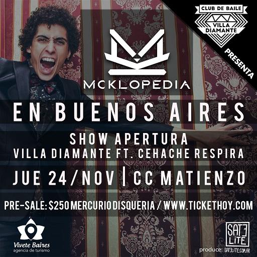 Mcklopedia en Buenos Aires