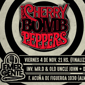 The Cherry Bomb Peppers en El Emergente