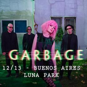 Garbage en el Luna Park