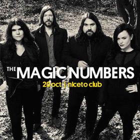 The Magic Numbers en Niceto Club