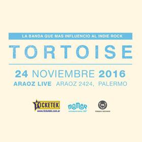 Tortoise en Argentina