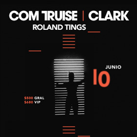 Clark, Com Truise y Roland Things en Sala Corona