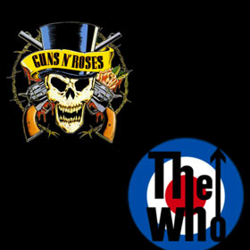 The Who y Guns n Roses en el Estadio Único de La Plata