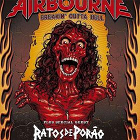 Airbourne + Ratos De Porao en Perú