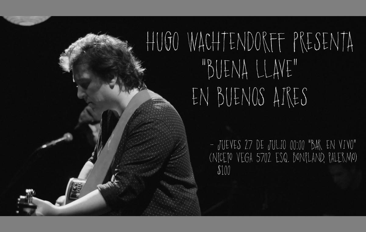 Hugo Wachtendorff en Bar en vivo