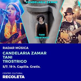 Ciclo Radar en C.C. Recoleta: Cactus de Rosa + Candelaria Zamar + TROSTRIGO