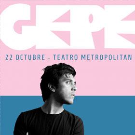 Gepe en Teatro Metropólitan
