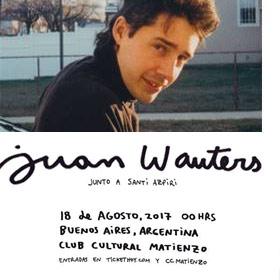Juan Wauters en Argentina