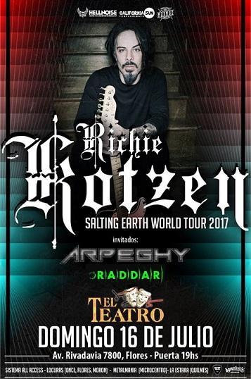 Richie Kotzen en El Teatro de Flores