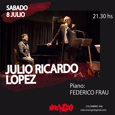 Julio Ricardo López en Nivangio