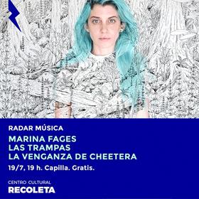 Ciclo Radar: Marina Fages + La venganza de Cheetara + Las Trampas