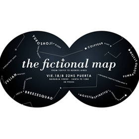 The fictional map en Naranja Verde