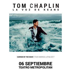 Tom Chaplin en Teatro Metropolitan