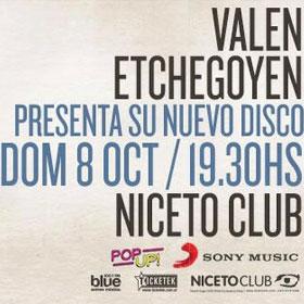 Valen Etchegoyen en Niceto Club