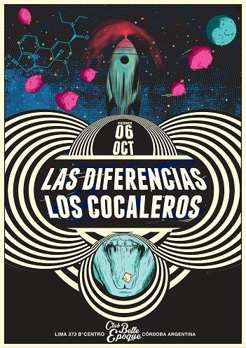 Las Diferencias & Los Cocaleros en Córdoba