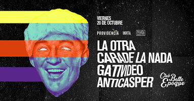La Otra Cara de la Nada + Gativideo + Anticasper en Córdoba