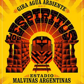 Los Espiritus en Estadio Malvinas Argentinas