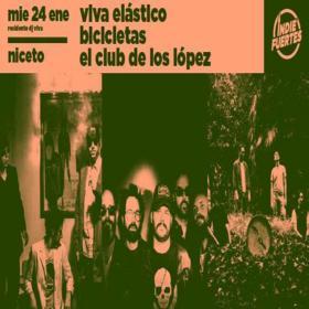 Bicicletas, Viva Elástico y El Club de los López en Niceto