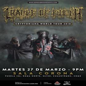 Cradle of Filth en México