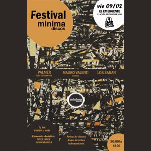 Festival Minima Discos en El Emergente Almagro