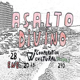 Asalto Divino: Miguel Canevari + Juanchy Manchy en Cooperativa Cultural Qi